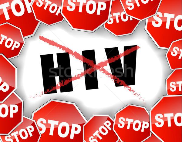 остановки ссылка секс здоровья образование знак Сток-фото © nickylarson974