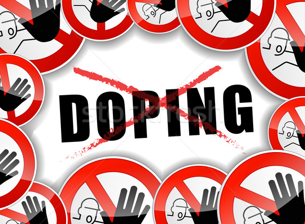 no doping abstract concept Stock photo © nickylarson974