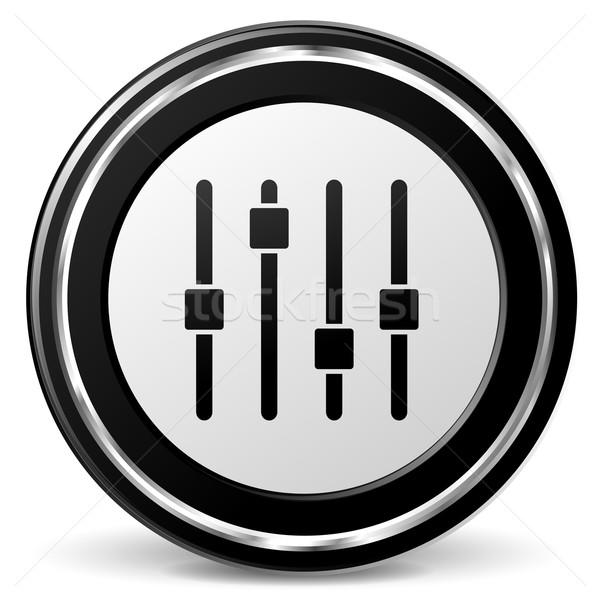 adjustment icon Stock photo © nickylarson974