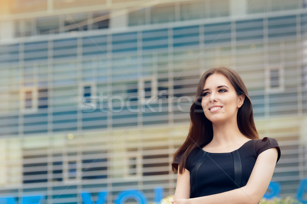 Young Businesswoman Out in the City  Stock photo © NicoletaIonescu