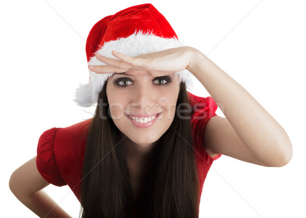Christmas Girl Scouting Stock photo © NicoletaIonescu
