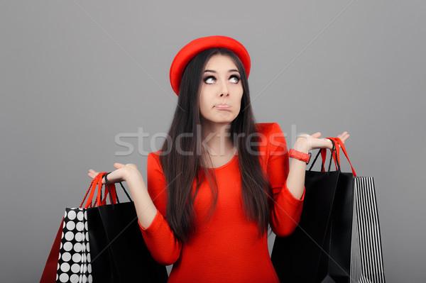 Foto stock: Mujer · cute · nina