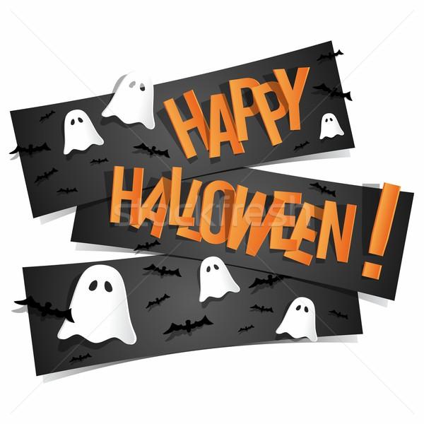 Heureux halloween carte résumé Photo stock © nicousnake