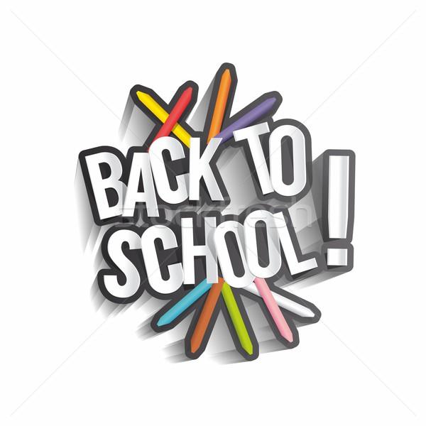 Back To School Stock photo © nicousnake