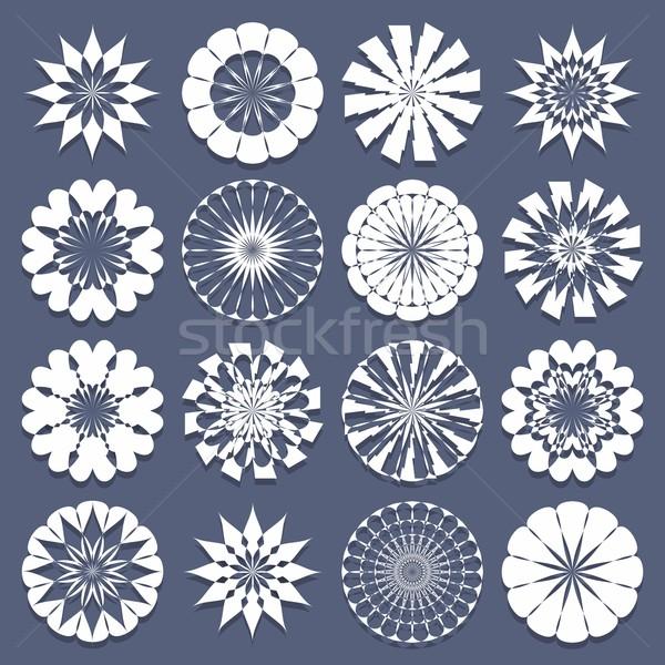 Spirale modèles modèle design résumé Photo stock © nicousnake
