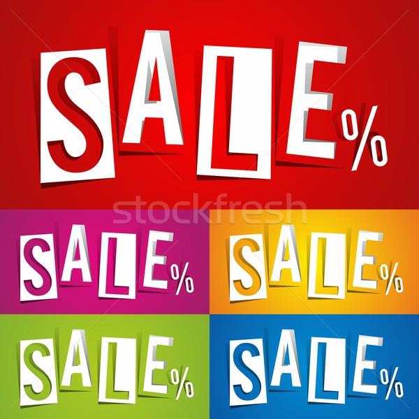 Sale Stock photo © nicousnake