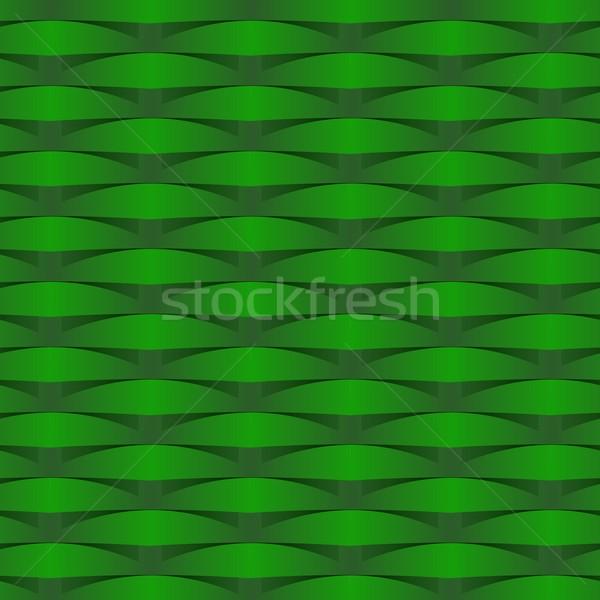 Creative résumé illustration été vert bleu Photo stock © nicousnake