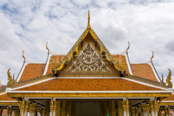 Bangkok Thaïlande château architecture asian blanche Photo stock © nicousnake
