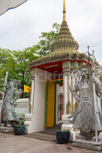 Célèbre Bangkok Thaïlande or dieu asian Photo stock © nicousnake