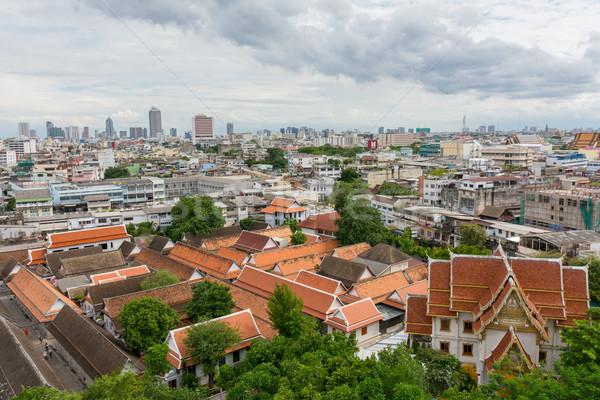 Or Bangkok Thaïlande asian Asie religion Photo stock © nicousnake