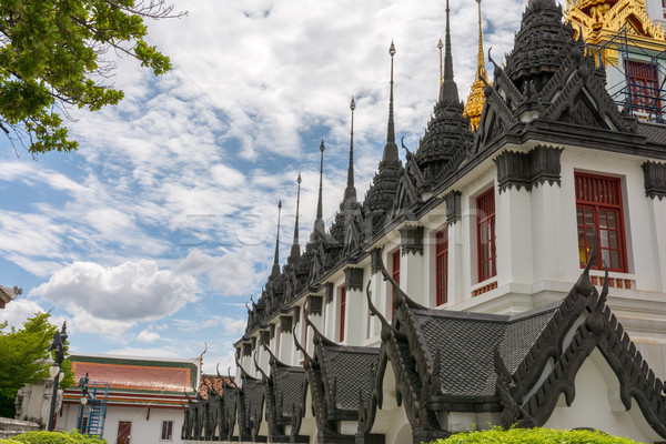 Бангкок Таиланд металл замок золото архитектура Сток-фото © nicousnake