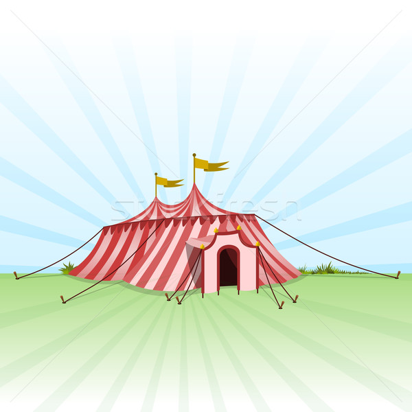 Circus Entertainment Tent Stock photo © nikdoorg