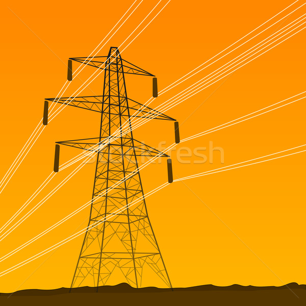 Electrical Tower Stock photo © nikdoorg