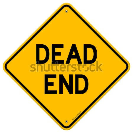 Dead End Sign Stock photo © nikdoorg