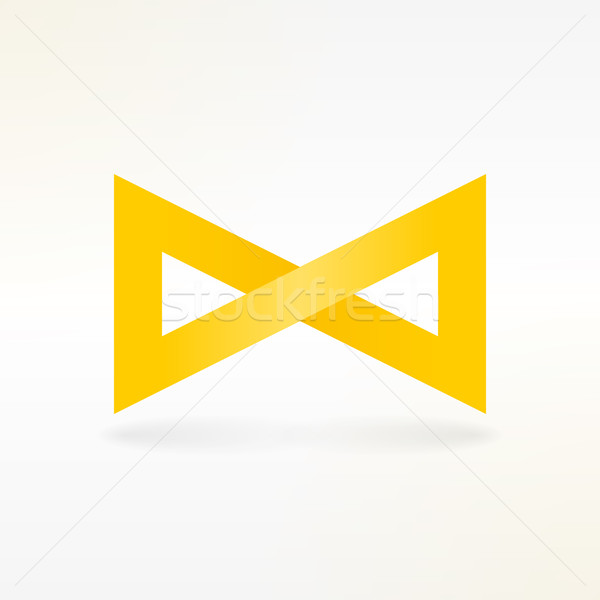 Yellow Infinity Symbol  Stock photo © nikdoorg