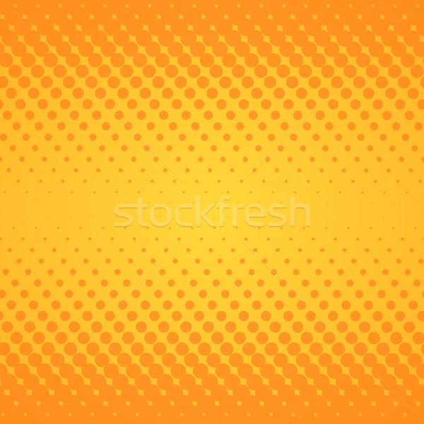 Jaune gradient texture en demi-teinte orange Photo stock © nikdoorg