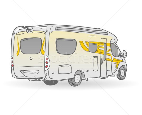 Veículo ilustração imagem europeu Foto stock © nikdoorg