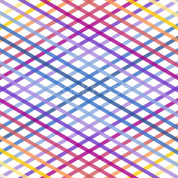Rainbow ligne texture coloré géométrique fond Photo stock © nikdoorg