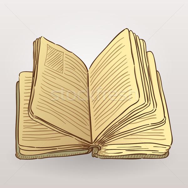 Book Illustration Stock photo © nikdoorg