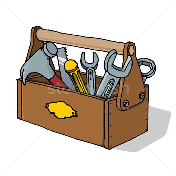 Toolbox Vector Illustration Stock photo © nikdoorg