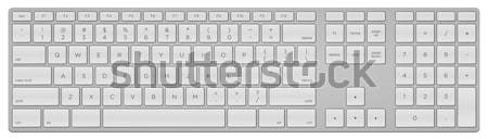 Standard US Keyboard Stock photo © nikdoorg