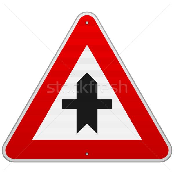 Crossroads Sign Stock photo © nikdoorg
