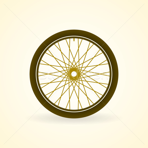 Bike ruota bicicletta pneumatico pastello Foto d'archivio © nikdoorg