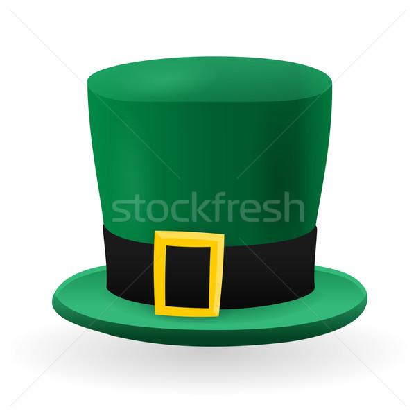 Green St Patrick Hat Stock photo © nikdoorg