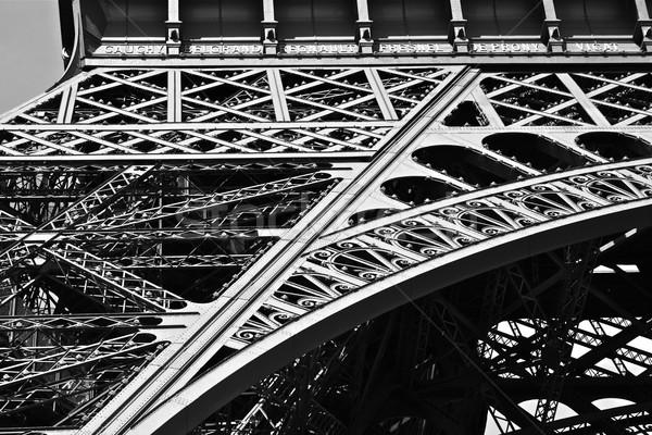Torre Eiffel famoso europeu metal estrutura Foto stock © nikdoorg