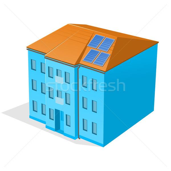 Apartment Building Stock photo © nikdoorg