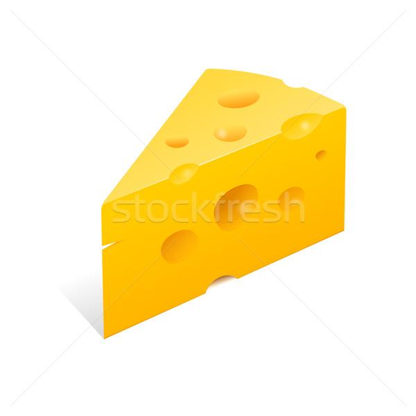 Peynir örnek yüksek çözünürlüklü sarı gurme gıda Stok fotoğraf © nikdoorg