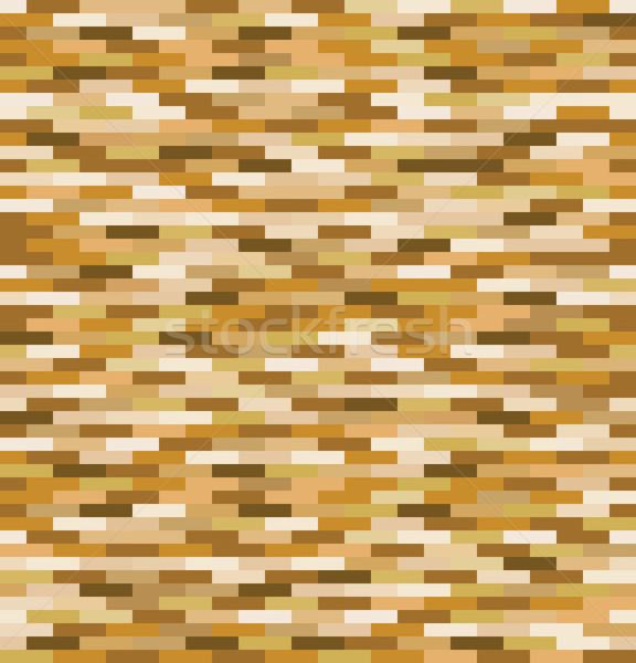 Foto stock: Retro · marrom · padrão · sem · costura · fundo · bege