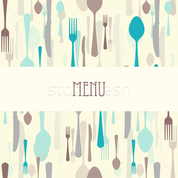 Dining Restaurant Menu Stock photo © nikdoorg