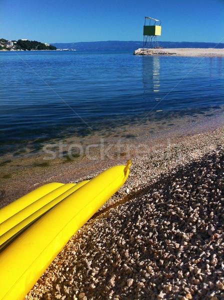Praia torre salva-vidas segurança praia Foto stock © nikdoorg