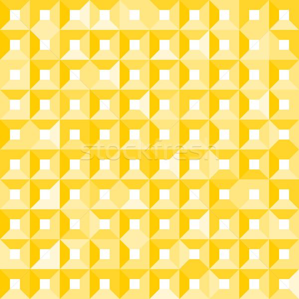 Foto stock: Sem · costura · amarelo · textura · padrão · elemento · abstrato