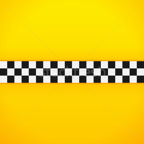 Yellow Checkerboard Pattern Stock photo © nikdoorg