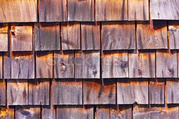 Wooden Roof Stock photo © nikdoorg