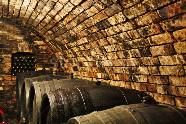 Old Wine Cellar Stock photo © nikdoorg