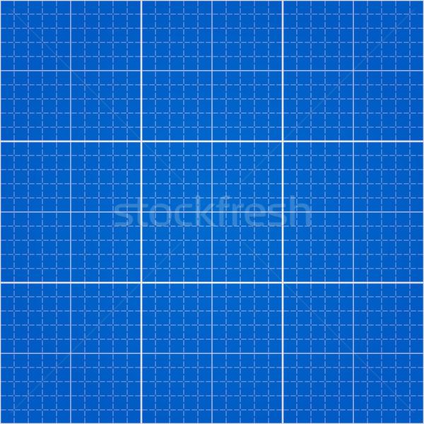 Seamless Blueprint Background Stock photo © nikdoorg