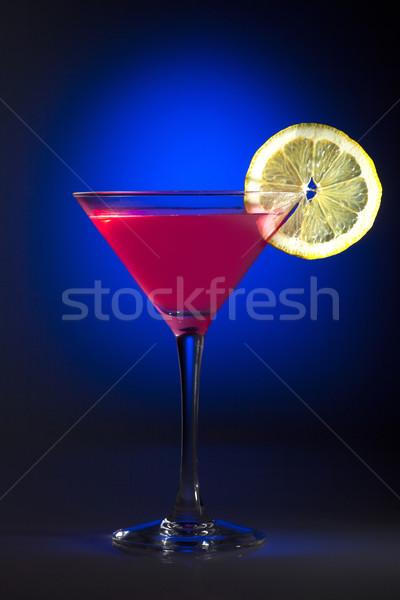 Cosmopolita vidro misto projeto fruto arte Foto stock © NikiLitov