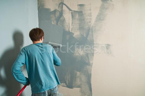 House renovation Stock photo © nikitabuida