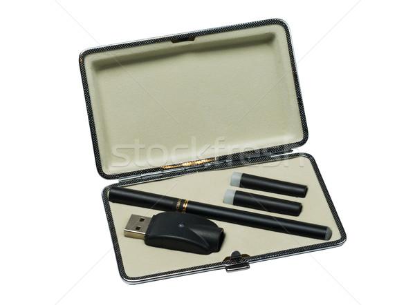 E-cigarette in case Stock photo © nikitabuida