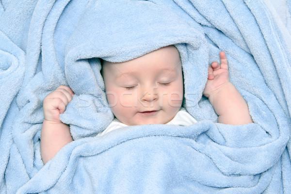 ребенка красивой ванны лице счастливым Сток-фото © nikkos