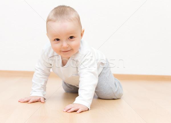 счастливым ребенка мальчика лице ребенка Сток-фото © nikkos