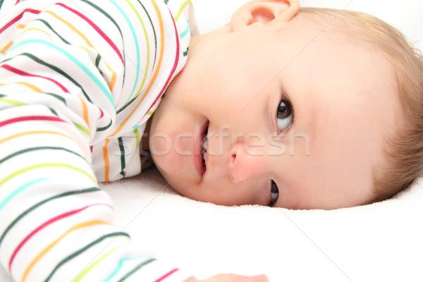 мало ребенка улыбаясь мальчика счастливым ребенка Сток-фото © nikkos