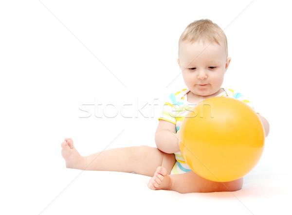 мало ребенка шаре ребенка рождения фон Сток-фото © nikkos
