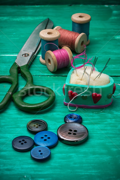 working tool dressmaker Stock photo © nikolaydonetsk