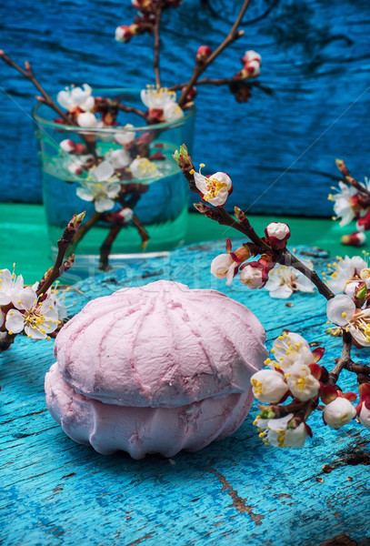 Pachnący deser powierzchnia Zdjęcia stock © nikolaydonetsk