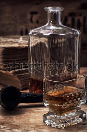 seasoned brandy  Stock photo © nikolaydonetsk