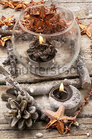 set of perfumes for spa treatments Stock photo © nikolaydonetsk